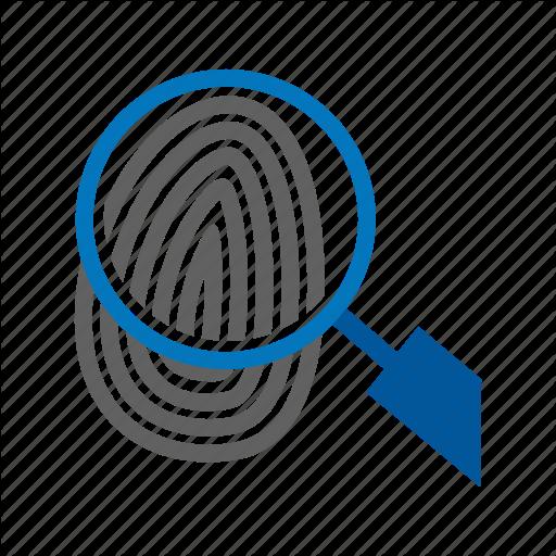 Finger, Fingerprint, Logo, People, Thumb, Thumbprint, Unique Icon