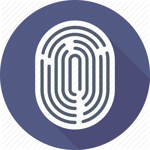 Fingerprint, Fingerprint Scanning, Thumb Impression, Thumb Print Icon