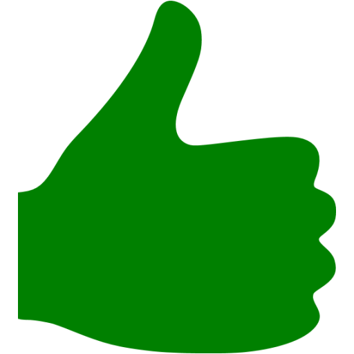 Green Thumbs Up Icon Transparent Png Clipart Free Download
