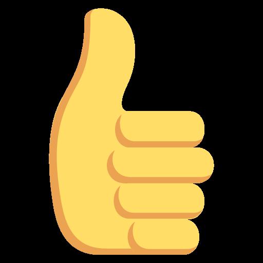 Thumbs Up Sign Emoji Emoticon Vector Icon Free Download Vector