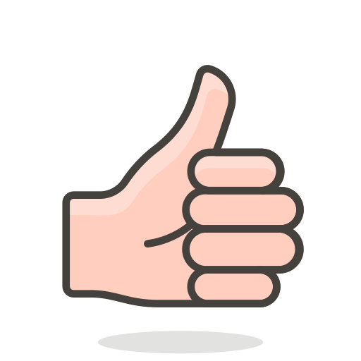Thumbs, Up Icon Free Of Free Vector Emoji