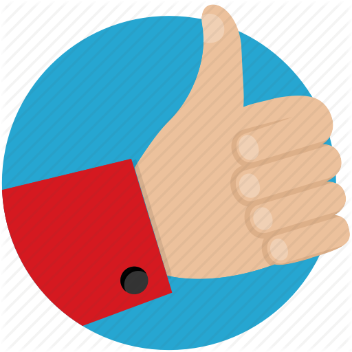 Approve, Hand, Like, Thumbs Up Icon