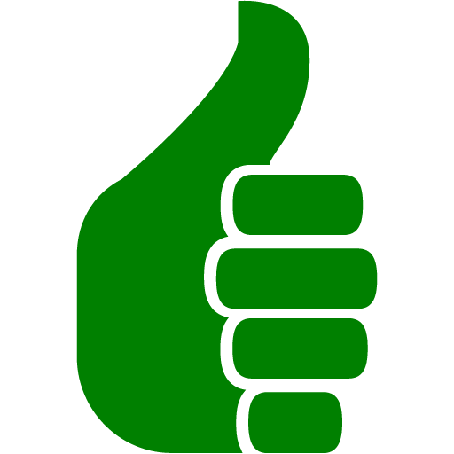 Green Thumbs Up Icon