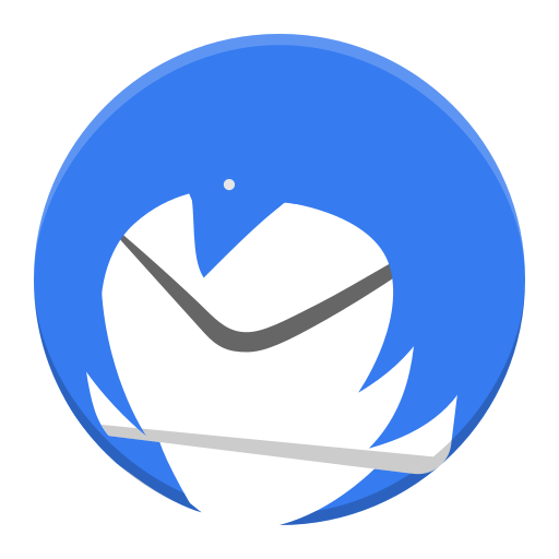 Thunderbird Icon Free Of Super Flat Remix Apps