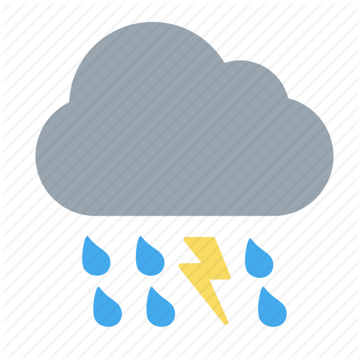Bad Weather, Thunderstorm, Weather Forecast, Wheater Icon
