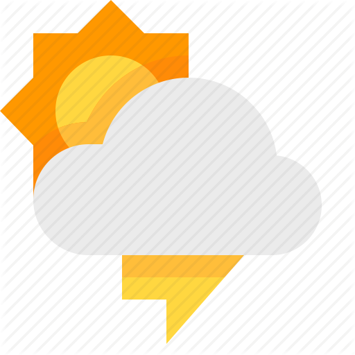 Day, Material Design, Thunderstorm, Weather Icon