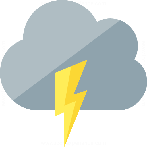Iconexperience G Collection Cloud Flash Icon