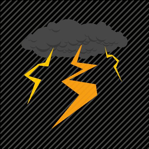 Lightning, Thunderstorm, Cloud, Transparent Png Image Clipart