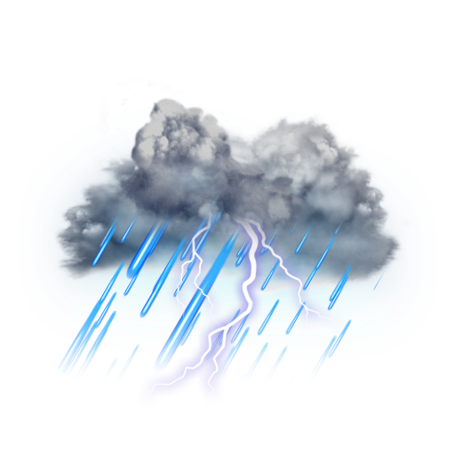 Weather Channel Thunderstorm Icon Transparent