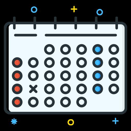 Calendar Icon Job Seeker Iconset Inipagi Studio