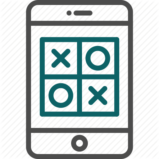 Game, Iphone Game, Puzzle, Smartphone Game, Tic Tac Toe Icon
