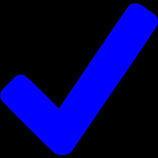Blue Checkmark Icon