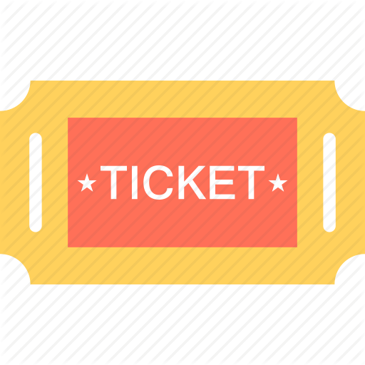 Entry Ticket, Event Pass, Museum Ticket, Pass, Ticket Icon