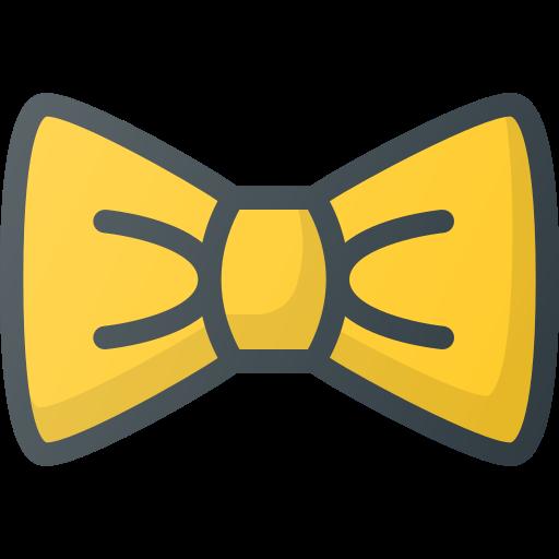 Bow, Tie, Elegant Icon Free Of Free Set Color Outline