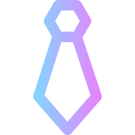 Tie Icon Business Colored Freepik
