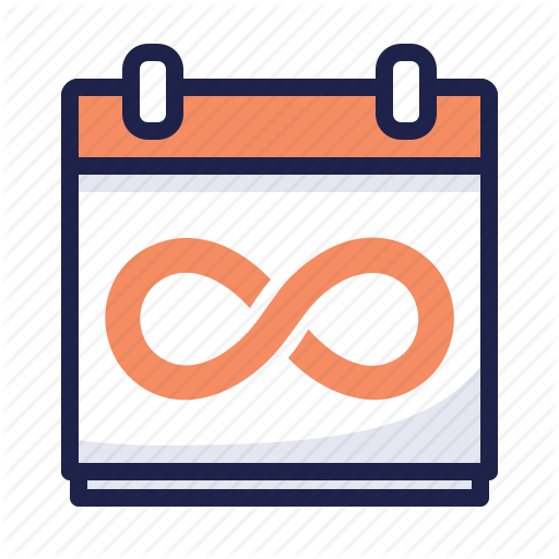 Calendar, Date, Time Off, Unlimited, Vacation Icon