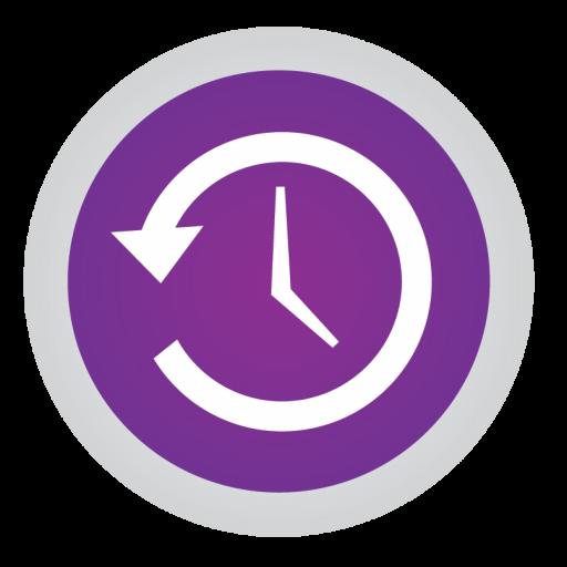 Time Machine Icon Stock Apps Part Iconset Hamza Saleem