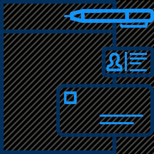 Timesheet, Workplan Icon
