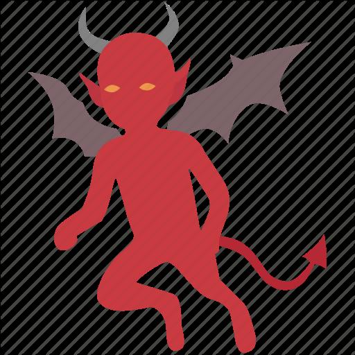 Bad, Conscience, Demon, Devil, Evil, Gremlin, Imp Icon