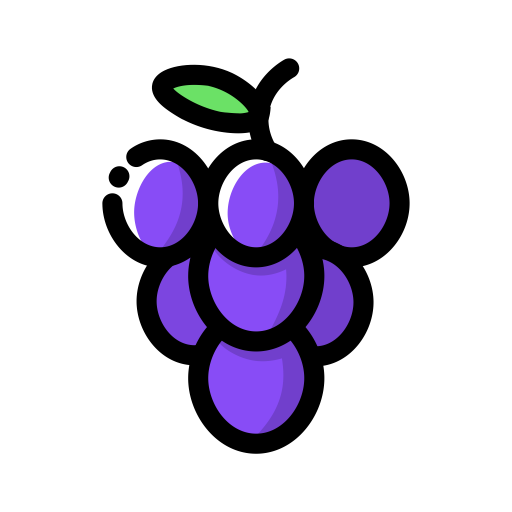 Collection Of Free Grape Vector Stylized Download On Ui Ex