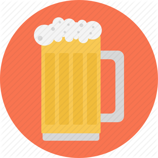 Beer, Beer Glass, Beer Jug, Glass, Glass Of Beer Icon