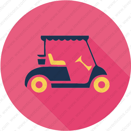 Download Golfcart,car,transport,sport,game Icon Inventicons