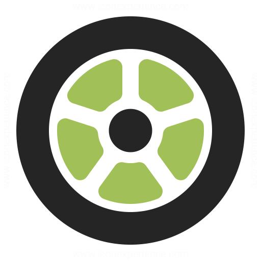 Wheel Icon Iconexperience