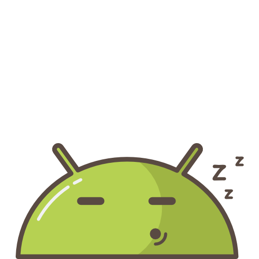 Android, Robot, Mobile, Sleeping, Tired Icon Free Of Androids