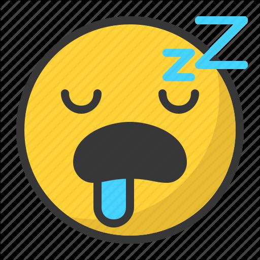 Emoji, Emoticon, Sleep, Sleepy, Tired Icon