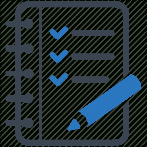 Checklist Icon Png List And Format Corner