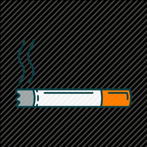 Cigarette, Smoke, Smoke A Cigarette, Tobacco Icon