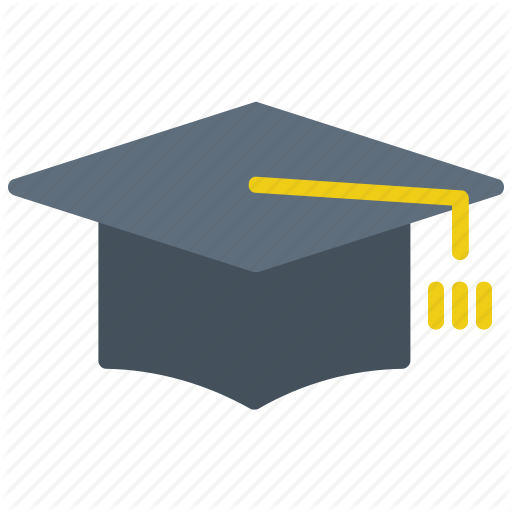 Caps, College, Education, Graduate, Toga Icon