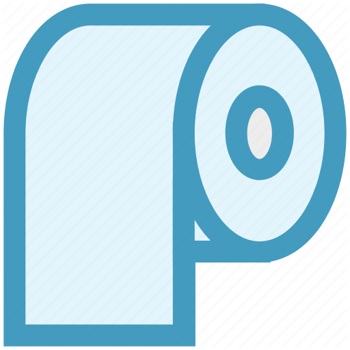 Clean, Clean Paper, Kitchen, Roll, Tissue Paper, Toilet Paper Icon