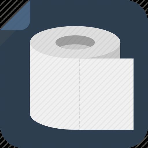 Paper, Toilet, Toilet Paper Icon