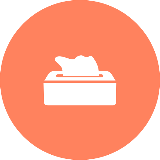 Tissue A, Cleaning Tissue, Kitchen Roll Icon With Png And Vector