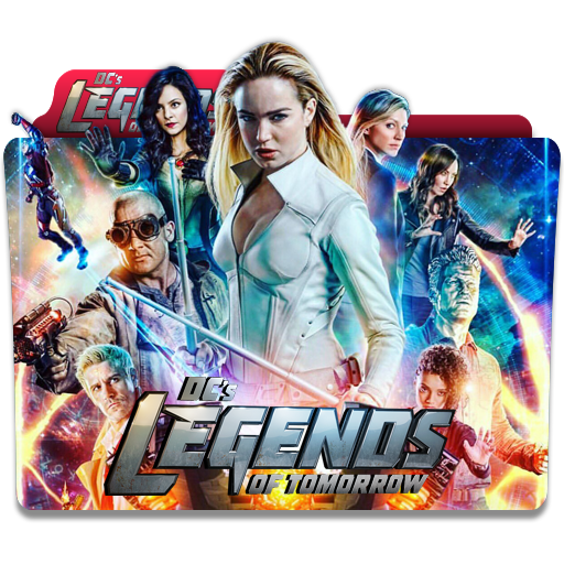 Dc's Legends Of Tomorrow Folder Icon
