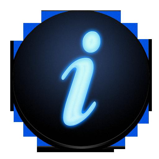 Toolbar Regular Get Info Icon Nod Iconset Rimshotdesign