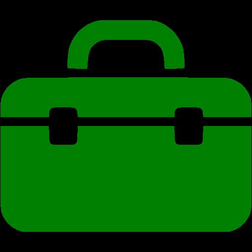 Green Tool Box Icon