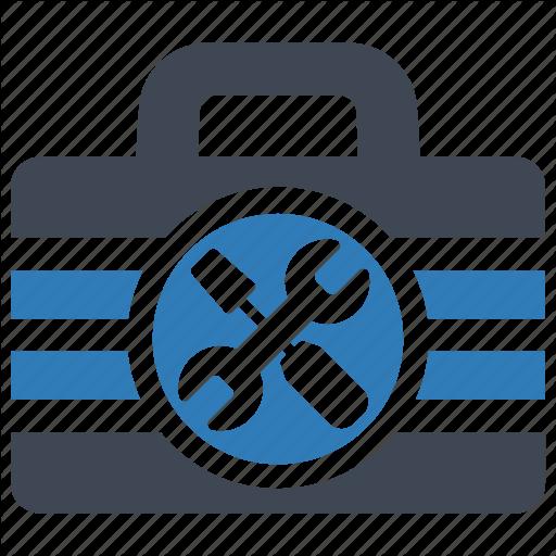 Hardware, Maintenance, Toolbox Icon