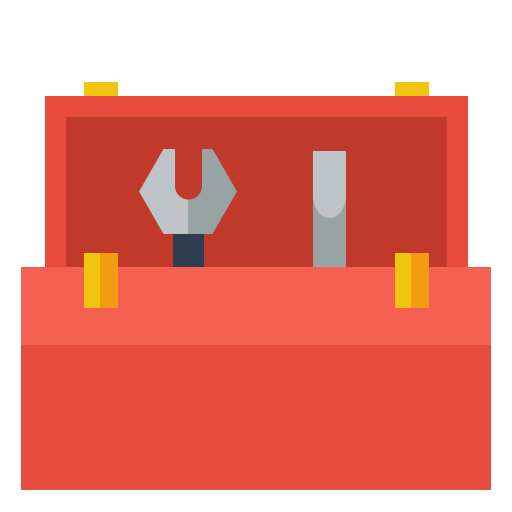 Tool Kit, Toolbox, Tools Icon