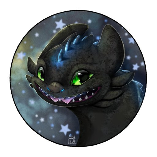 Alpha Toothless Icon Redraw