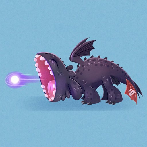Cute Toothless H T T Y D Amino