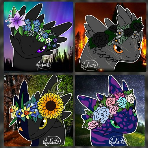 Should I Make A Free To Use Toothless Flower Crown Icon H T T Y D