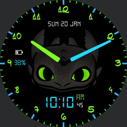 Toothless For G Watch R