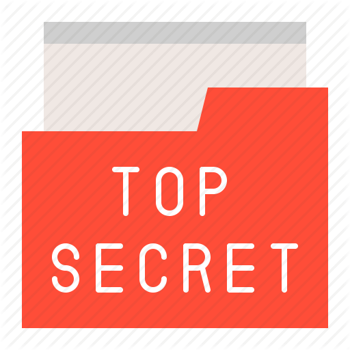 , Folder, Police, Secret Data, Secret Folder, Top Secret Icon