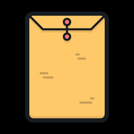 Manilla Envelope, Envelope, Top Secret