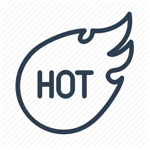 Discount, Fire, Flame, Hot, Popular, Sales, Topic Icon