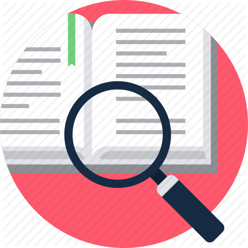 Search, Study, Topic Icon