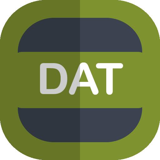 Dat Icon Free Flat Type Iconset Uiconstock