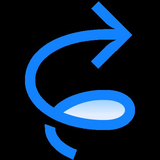 Arrow, Clockwise, Swirl, Tornado, Twister Icon